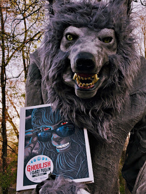 seven-foot animatronic werewolf named C. Thomas Howl - Meet April Snellings in this Debut Author Spotlight - Ghoulish: The Art of Gary Pullin #book