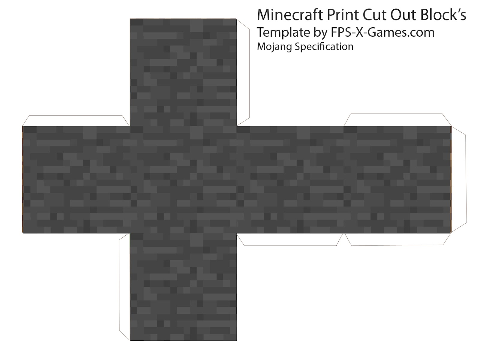 Minecraft Blog: Minecraft Cube's - Printable Cut Out Block's
