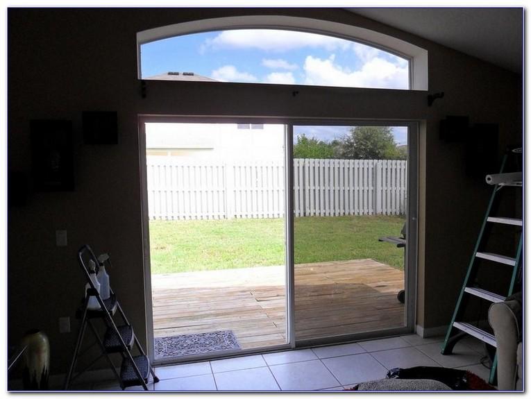 window film for sliding glass doors
