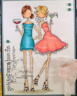 Heather's Hobbie Haven - Victoria & Juliette's Night Out Card Kit