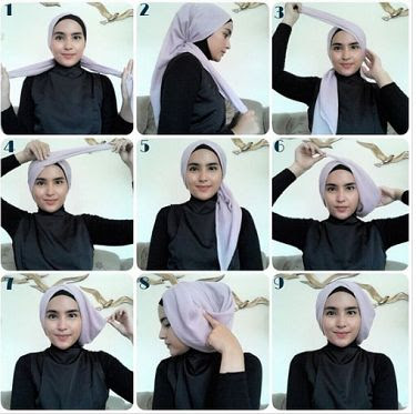 Tutorial Hijab Simple Terbaru