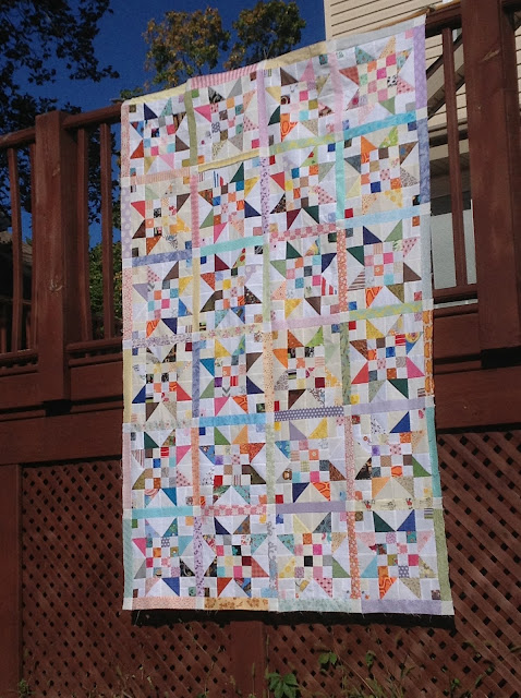 Peach Patch Quilts: Finish It Up Friday - How to make friends and alienate neighbors