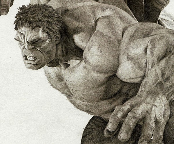 03-Mark-Ruffalo-The-Hulk-Julio-Lucas-Experimenting-with-Photo-Realistic-Drawings-www-designstack-co