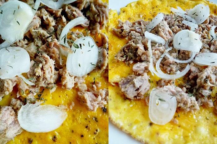 Omelette mit Thunfisch
