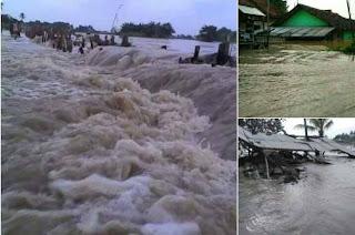 Waduh Relawan FPI Terpaksa Tembus Arus Banjir Guna Salurkan Bantuan Kepada Para Korban Banjir di Bekasi - Commando