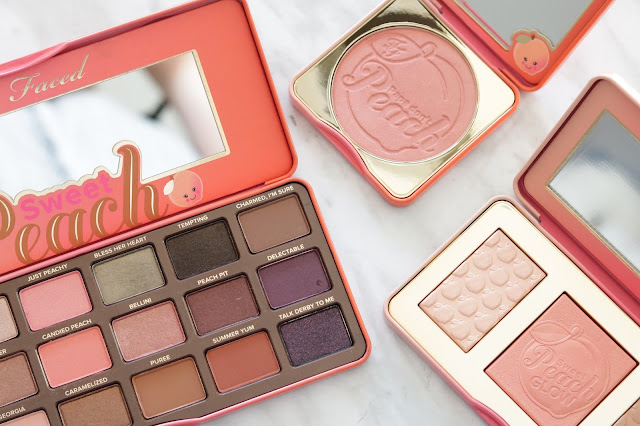 too faced sweet peach palette collection