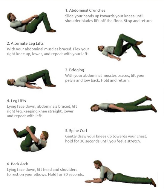 Low back exercises