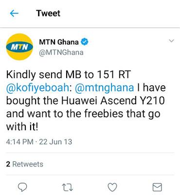 Huawei Ascend Y210 Free Data Ghana