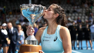 Spotlight : Julia Georges Stuns Caroline Wozniacki To Clinch Auckland Classic Title