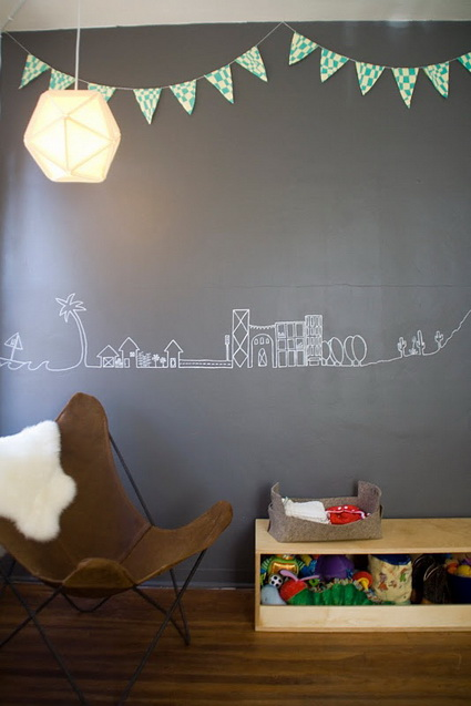 Slate Walls In Children's Rooms 7
