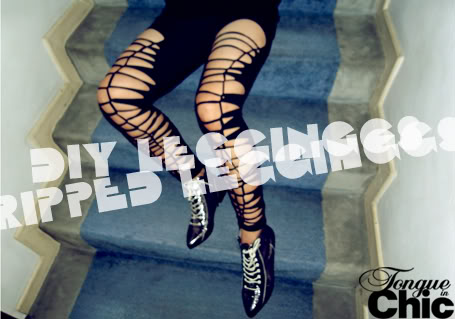 pantalones, leggins, rasgados, personalizar, customizar, bricomoda