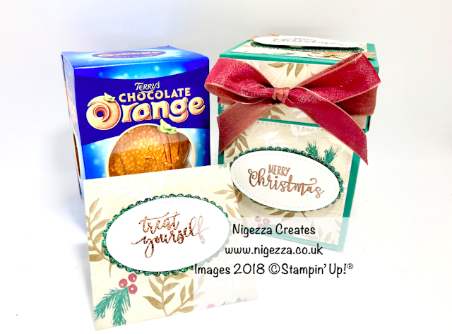 Chocolate Orange Christmas Gift Box With Money Envelope Nigezza Creates