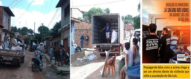 O BLOG PROVA: Segurança pública do Maranhão é de H. Salve-se quem puder!