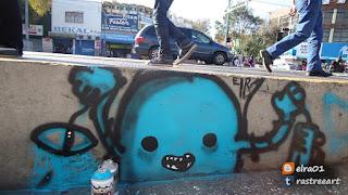 artista urbano elra