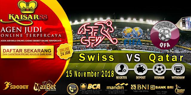 Prediksi Bola Terpercaya Laga Friendlies Switzerland Vs Qatar 15 November 2018