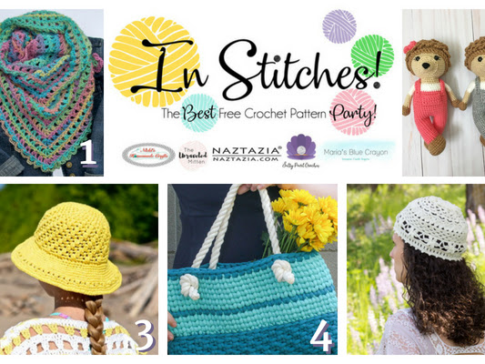 In Stitches - Best Free Crochet Link Up Party Week #13