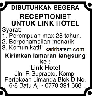 Lowongan Kerja Link hotel