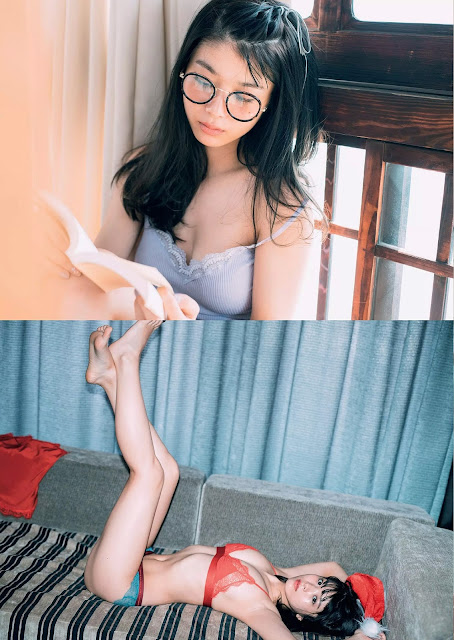 Fumika Baba 馬場ふみか 2018 Weekly Playboy No 1-2 Images