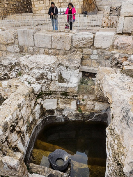 Israel inaugurates new Mikve (Ritual Bath) Path in Walls around Jerusalem National Park