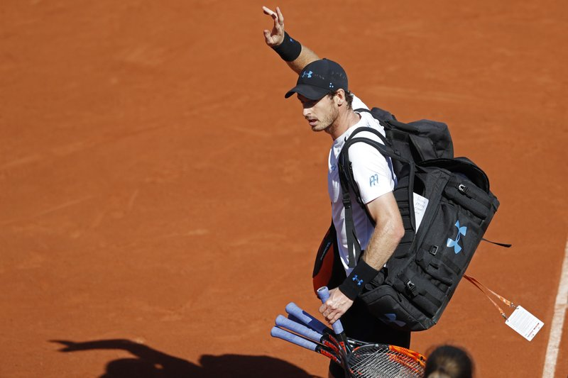 Andy Murray withdrawn from an exhibition match Due to Sore Hip Injury