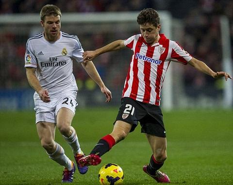 Herrera để lại dấu ấn rất lớn trong màu áo Athletic Bilbao