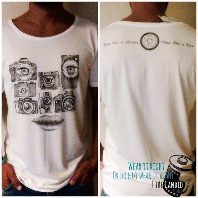 The Candid T shirt Mando