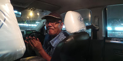 Endi, Sopir Taksi Blue Bird