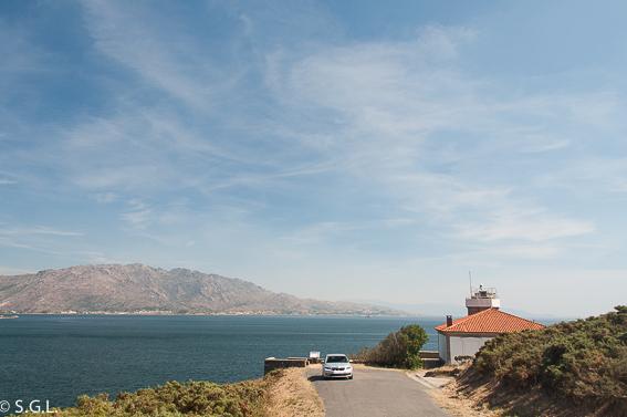 Faro cabo Cee Corcubion. Roadtrip Costa Da Morte. Galicia