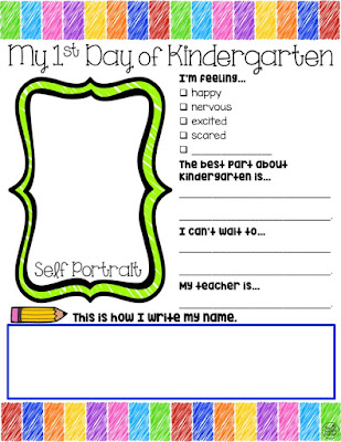 Free Getting to Know You Printable for Kindergarten and Preschool