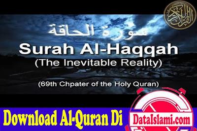 Download Surat Al Haqqah Mp3 Full Ayat Suara Merdu