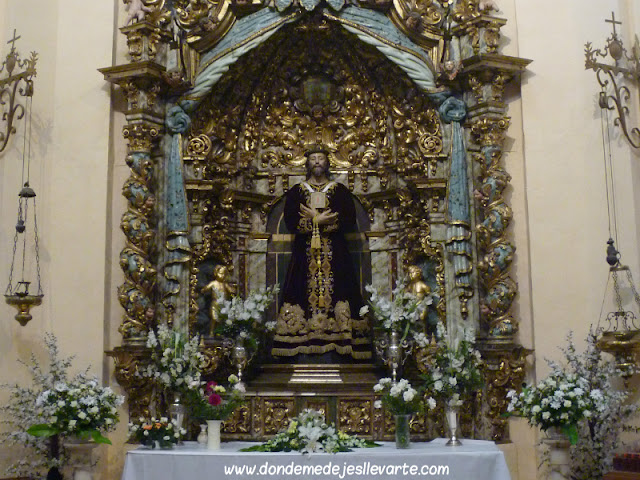 Interior de la Ermita de Jesús, Almazán
