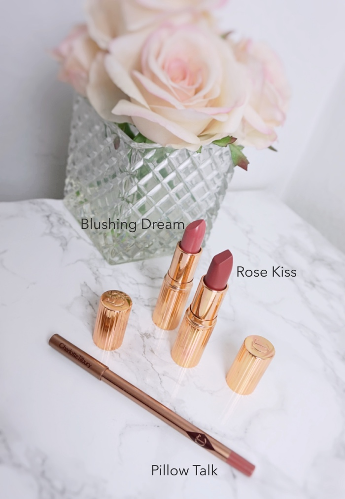 Charlotte Tilbury The Pretty Pink Lipstick Set swatch