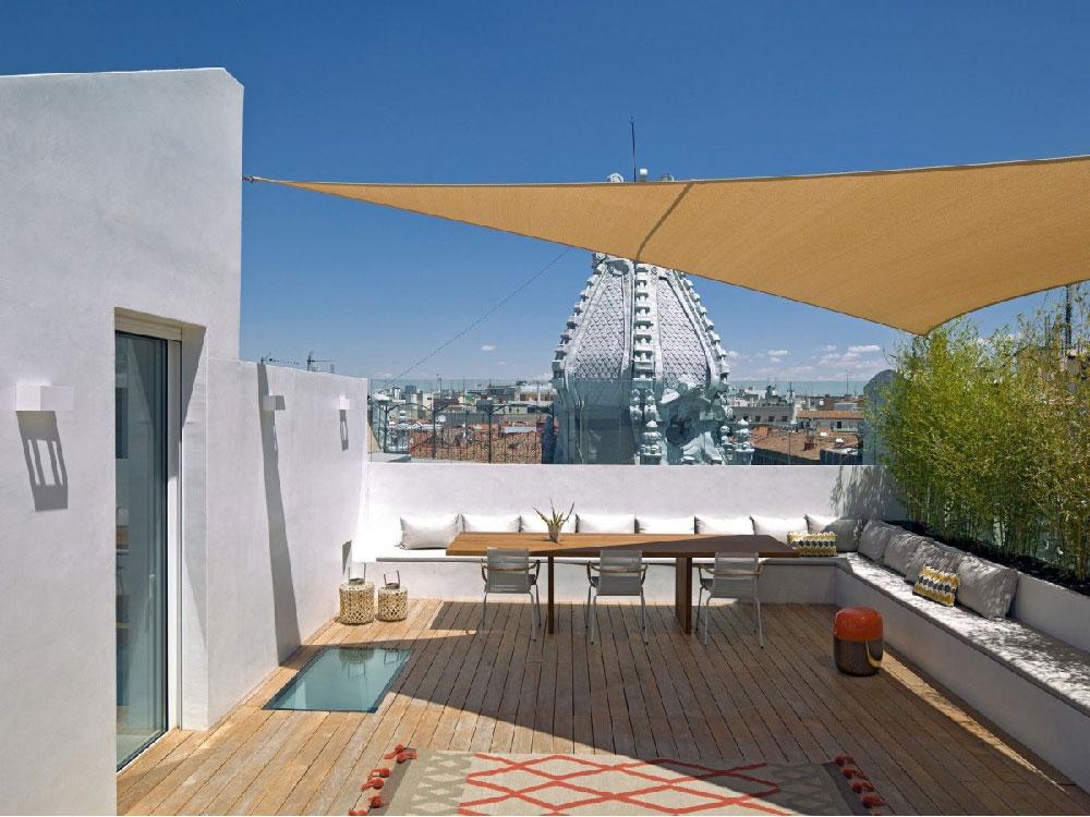 Appartamento su due livelli con terrazza sul tetto  Blog