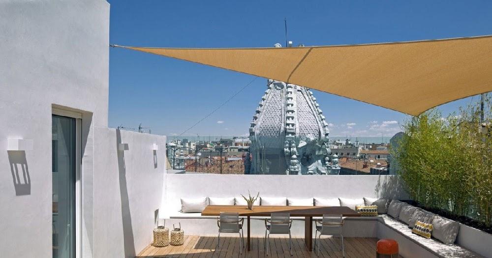 Appartamento su due livelli con terrazza sul tetto blog di arredamento e interni dettagli - Terrazza sul tetto ...