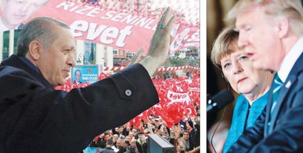 Νέα αδράνεια της Δύσης για τον ισχυρό Ερντογάν