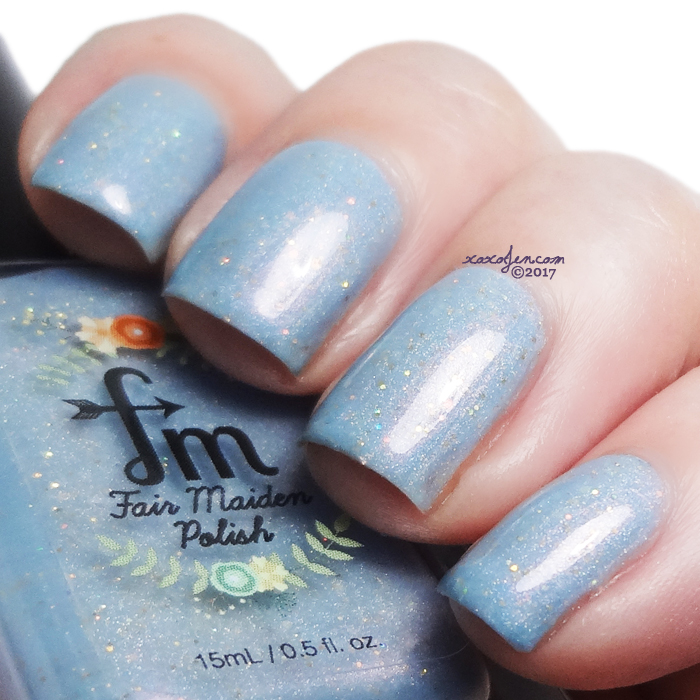 xoxoJen's swatch of Fair Maiden Welcome to New York