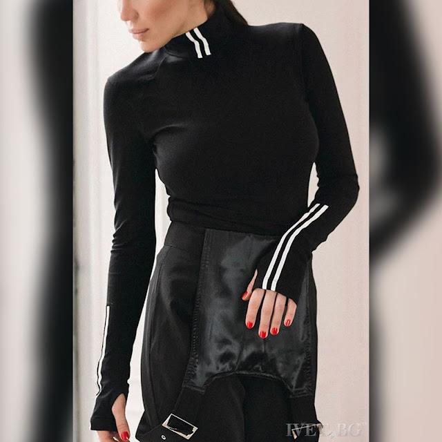 Μακρυμάνικη γυναικεία μπλούζα HALEY