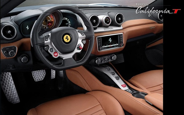 Interior Ferrari California T