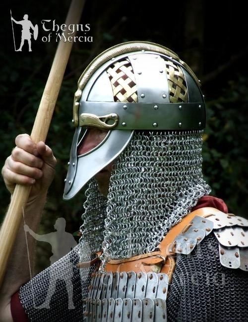 "Viking Welding Helmet >> Thegns of Mercia: Anglo-Saxon and ""Viking"" Helmets and Helmet Words"
