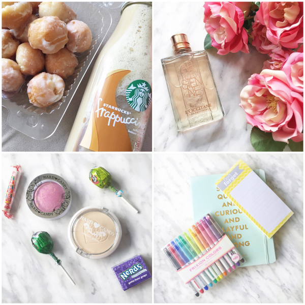 bbloggers, bbloggersca, lbloggers, makeup, instamonth, starbucks, donuts, loccitane, frixion, planner, hard candy, perfume