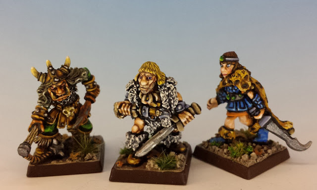 Talisman Hobgoblin, Barbarian and Amazon, Citadel (1986, sculpted by Aly Morrison)