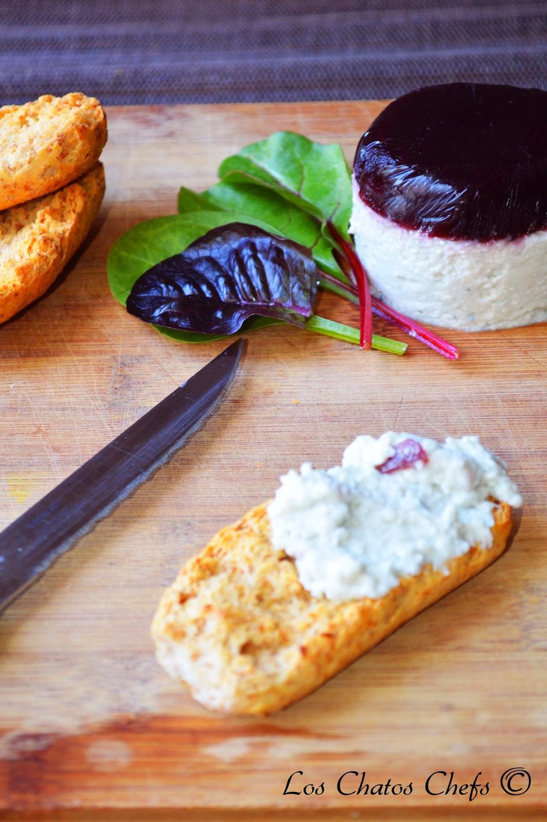 paté de queso azul