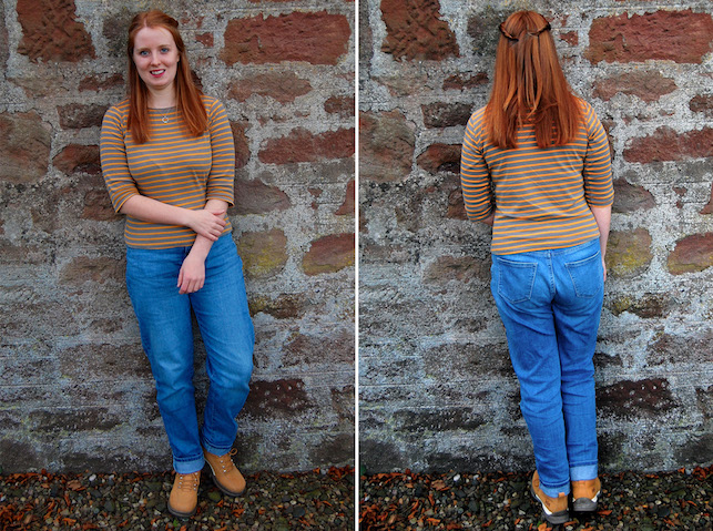 02498a14 G is for Gingers: My First Pair of Girlfriend Jeans