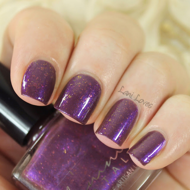 Femme Fatale Cosmetics Genetic Memory nail polish swatches & review