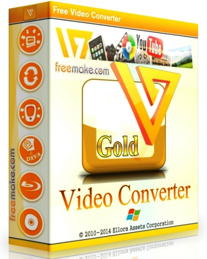 DOWNLOAD FREEMAKE VIDEO CONVERTER GOLD 4.1.10.40 MULTILINGUAL + SERIAL KEY