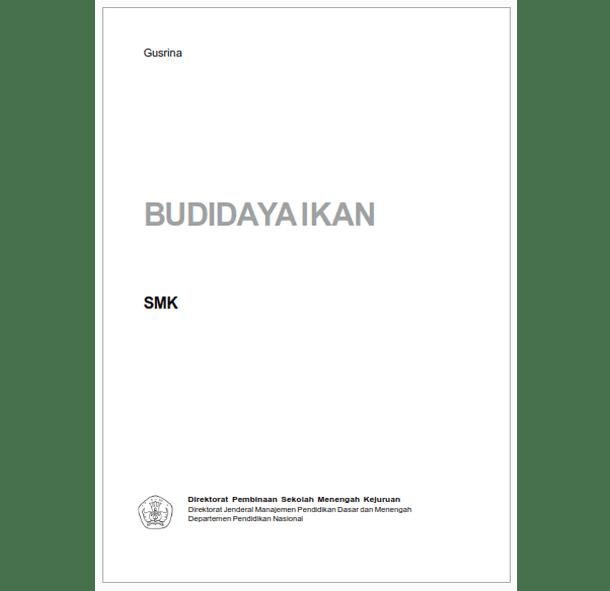 Buku SMK Agroindustri Budi Daya Ikan