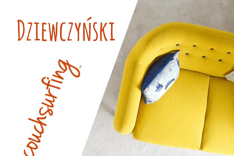 Dziewczyński Couchsurfing