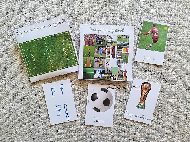 || Nos activités sur le football : Cartes de nomenclature Maaademoiselle A. Shop