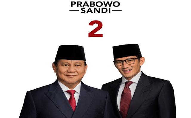 Prabowo Sandi Dalam Pilpres 2019
