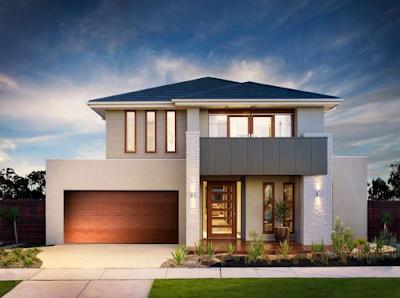 Kumpulan Bentuk Fasad Rumah Minimalis Terbaru 2016 - 008